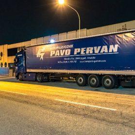 Kamionski prijevoz robe - Transporti Pervan